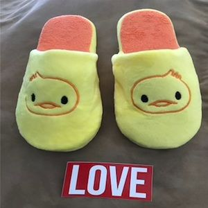 CHICK ANIMAL SLIPPERS Shoes - Chick 🐤 Animal Slippers (For Adults) ONE SIZE ♥️